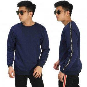 Sweatshirt Track Strap Navy