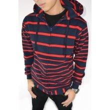 Jacket Stripe Navy n Red