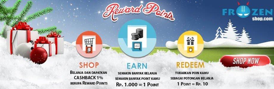 Reward Points Program, kumpulkan poin kamu sekarang..