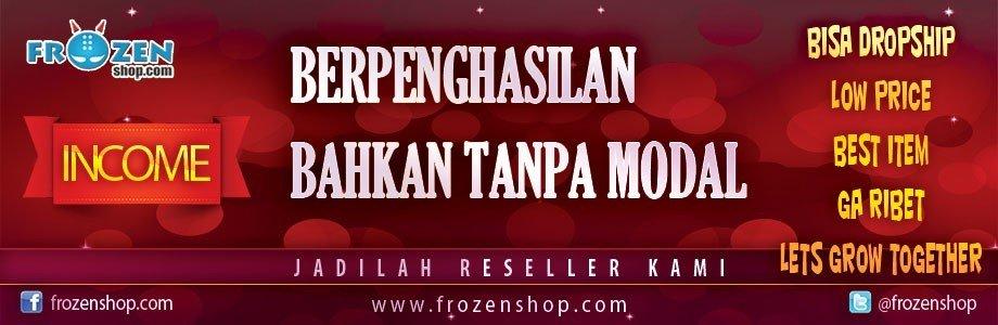 Be Frozenshop Reseller, Baju Pria & Baju Wanita