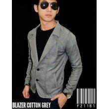 Blazer Cotton Grey