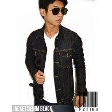 Jacket Denim Black