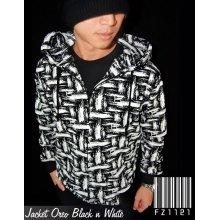 Jacket Oreo Black n White