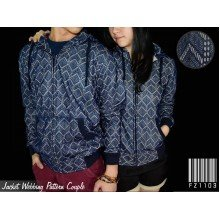 Jacket Couple Webbing Pattern