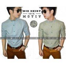 Mid Shirt Neck Motiv *Limited Edition *Import Korea