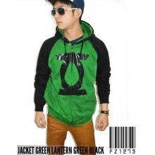 Jacket Green Lantern Green Black - Jacket Superhero