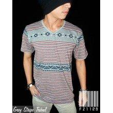 Grey Stripe Tribal