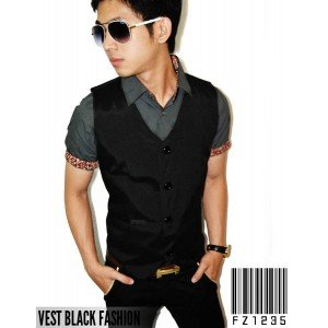 Vest Black Fashion