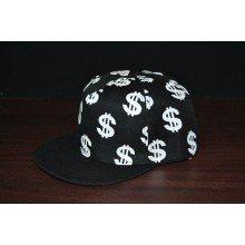 Topi Snapback Dollar Symbol