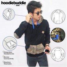 Hoodiebuddie Leopard Elbow with Earphone