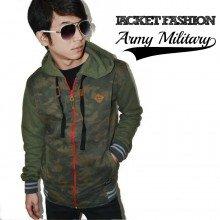 Jacket Fashion Army Military