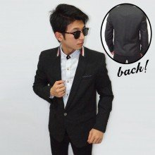 Blazer Fashion Collar Three Line