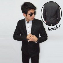 Blazer Formal Collar Polkadot