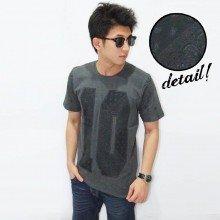 Batik Ten Print Dark Grey