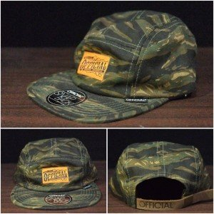 5 Panel Caps Official Camouflage Army