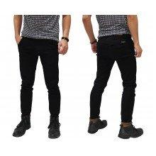 Jeans Pants Basic Skinny Kakkoii Black