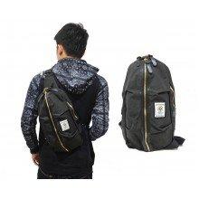 Shoulder Bag Ozuko Line Zipper Grey