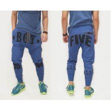 Sweatpants Boy Five 55 Blue