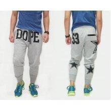 Sweatpants Dope Stars 53 Soft Grey