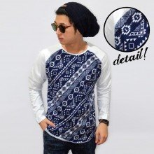 Raglan Body Tribal Webbing Motif