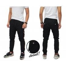 Jogger Pants Cargo Chino Kakkoii Black
