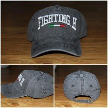 Topi Italian Fighting Black Faded