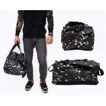 Travel Bag Paint Splash Black