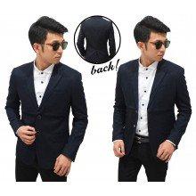 Blazer Formal Double Left Collar