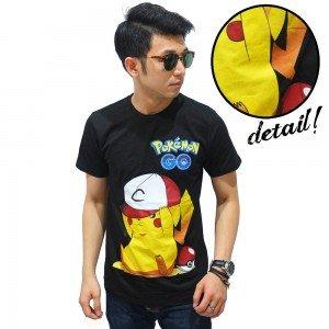 Kaos Pokemon Go Cute Pikachu