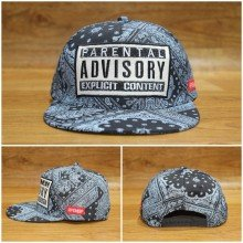 Topi Snapback Parental Advisory Tribal