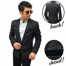 Blazer Executive Pocket Dots Love