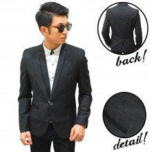 Blazer Executive Pocket Shiny Black