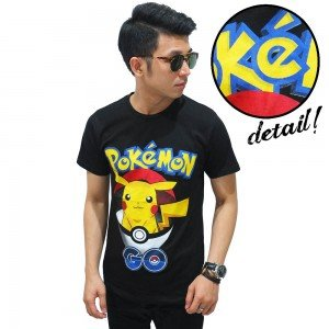 Kaos Pokemon Go Catch Pikachu