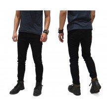 Celana Jeans Skinny Hitam Polos