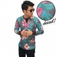 Sweatshirt Sweet Floral Pattern