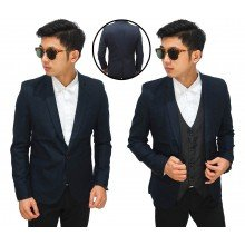 Blazer Formal Basic Dark Navy