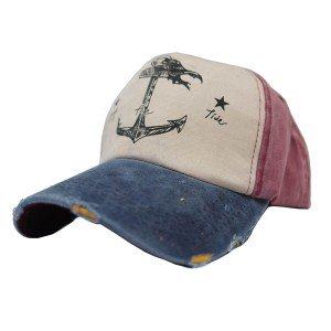 Topi Classic Anchor Red