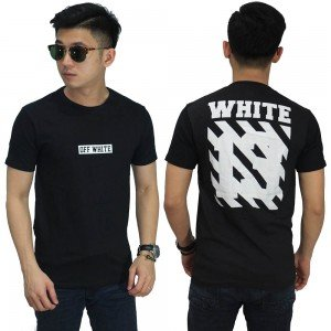 Kaos Off White Invisible 13 Black