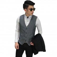 Vest Formal Basic Grey