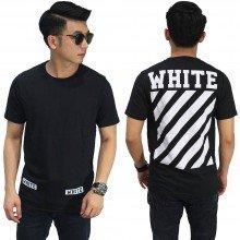 Kaos Off White Diag New Black
