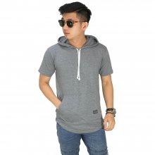 Hoodie T-Shirt Basic Dark Grey