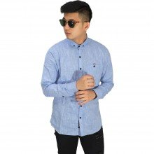 Kemeja Formal Executive Soft Blue
