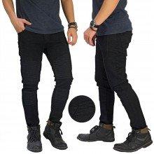 Jeans Biker Extend Black
