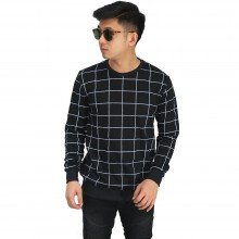 Sweatshirt Big Square Black