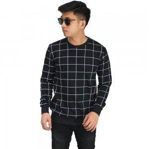Sweatshirt Big Square Black