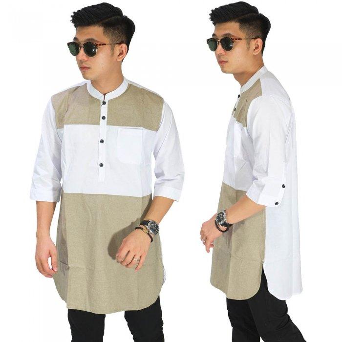 Baju Muslim Kurta Gamis Jadi Trend Lebaran 2020