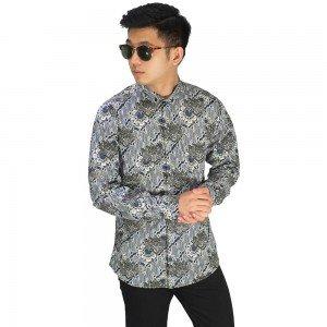 Kemeja Batik Elegant Motif