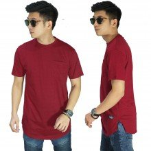 Longline T-Shirt Basic Blood