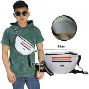 Waist Bag Fila Heritage Mini White