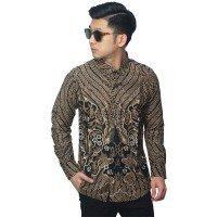 Kemeja Batik Motif Classic Black